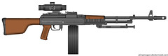 Tactical RPD-like machine gun (Psilocabe) Tags: rpd degtyarev