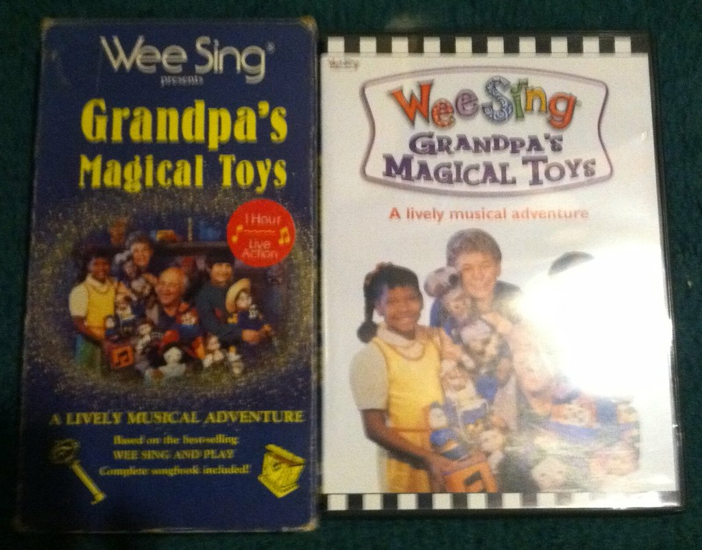 Wee Sing Grandpa S Magical Toys Dvd 87