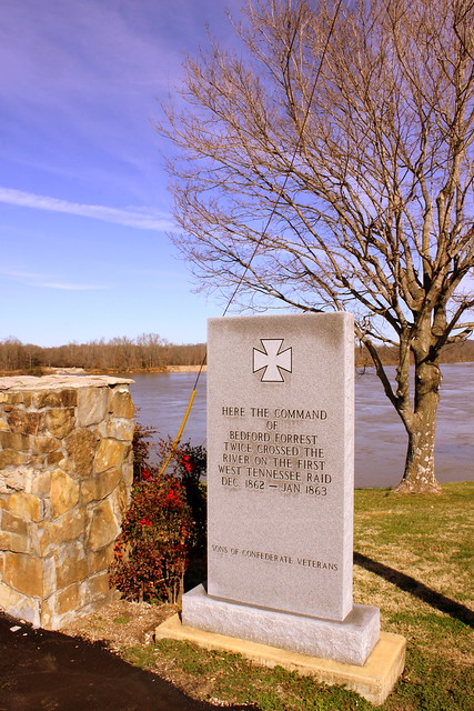 Where Forrest Crossed the Tennessee River