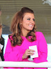 Coleen Rooney during Liverpool Day at the John Smith's Grand National Festival at the Aintree Racecourse Liverpool, England