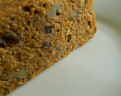 Whole Grain Carrot, Raisin and Walnut Cake