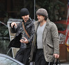 Colin Farrell walking to the gym inbetween takes for his new movie 'Dead Man Down'. Philadelphia, USA