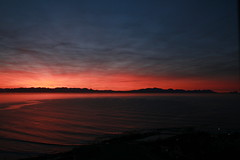"Sunrise over False Bay • <a style=""font-size:0.8em;"" href=""http://www.flickr.com/photos/34800309@N05/7413753872/"" target=""_blank"">View on Flickr</a>"