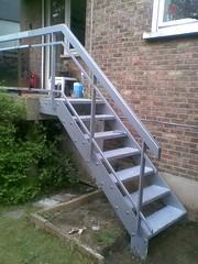Escalier mtallique ralis par l'Atelier de Ferronnerie Yasar  Bruxelles (Atelier Ferronnerie Yasar) Tags: bruxelles escalier mtal fer yasar atelier mtallique ferronnerie forg