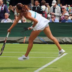 The 126th Championships Wimbledon 2012 - Sorana Cirstea (Rou) (Andy2982) Tags: tennis wimbledon fra rou firstround allenglandlawntennisclub court5 soranacirstea paulineparmentier the126thchampionshipswimbledon2012