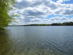 Cochnewagon Lake (RonG58) Tags: pictures new trip travel light sky usa lake color film nature water clouds forest landscape geotagged photography us photo spring woods raw day image photos live maine picture images photograph monmouth digitalcamera exploration mori mizu photooftheday picoftheday leau ellago fugifilm lafort elagua mizuumi daswasser cochnewagonlake dailynaturetnc12 rong58 thrilltnc finepixhs50exr