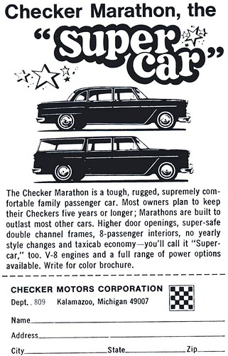 1967 Checker Marathon