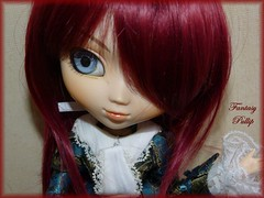 Ruby Red (Roxy) Tags: outfit wine stock wig pullip custo veritas leeke