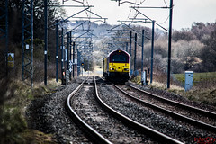 Derby Tests (InterCity Photography) Tags: city test train photography near top no tail rail db class network tnt alistair 67 023 nos 022 intercity inter dbs schenker grimley ews alsager 67022 67023 liveried 05042013