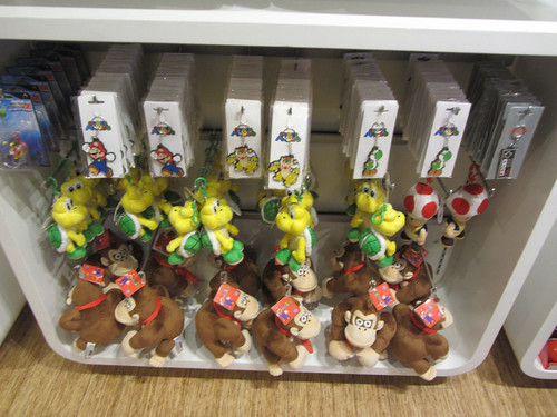 Various Mario universe key-chains