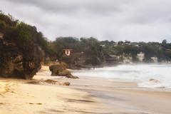 Dreamland beach (Launisch) Tags: ocean bali beach canon indonesia 50mm day cloudy sigma dreamland