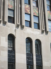 the Powhatan apartments, art deco (sassnasty) Tags: chicago walking tour neighborhood hood kenwood hoods