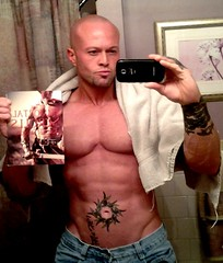 Tattooed Romance Cover Model John Quinlan for Kristin Secorsky The Immortal Scrolls (Xmangdog) Tags: model tattoos johnquinlan romancecovermodel kristinsecorsky theimmortalscrolls
