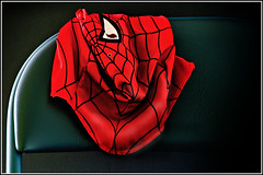Spiderman unmasked .. (HecSub) Tags: mask spiderman