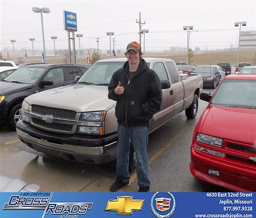 Crossroads Chevrolet Cadillac would like to wish a Happy Birthday to John Paul!