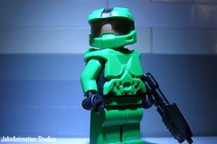The Master Chief (FinalShotFilms) Tags: gun lego chief helmet halo xbox 360 master