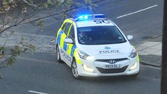 Merseyside Police blue light call (sab89) Tags: blue light vehicle emergency hyundai patrol grade1 i30 merseysidepolice pe13glj