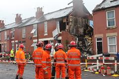 House explosion, Sheffield 5 (South Yorkshire Fire & Rescue) Tags: explosion gasexplosion houseexplosionhouseexplosiondundasroadtinsley