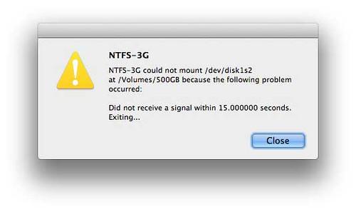 NTFS-3G for Mac OS X