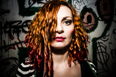 Sassy Kraimspri (Erik Furulund) Tags: show red portrait people musician music orange norway wall cat canon hair photography stavanger photo fight interesting concert eyes kitten kat punk raw faces sassy live stripes flash band expressions curls kittens cock lips dirty portraiture 7d punkrock looks rocknroll redhair graphitti graphite humans scumbags drunkphotography cockfight katt funnycats lyngdal klab thehumanrace musikkfest cudly humanoids pussymagnet erikf onelightsource portraitphoto furulund canon7d sassykraimspri erikfurulund scumbagpunk erikfurulundphotography furuhue morsomkatt rocknrollphotobyerikfurulund sashimikrayfish