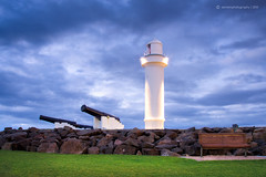 Wollongong Lighthouse (SoniaMphotography) Tags: morning lighthouse sunrise canon landscape dawn soft view australia nsw southcoast wollongong