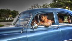 Havana - Cuba (IV2K) Tags: tattoo taxi sony havana cuba cruisin caribbean habana hdr kuba photomatix tonemapped rx1 blinkagain