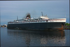 SS Badger (binsiff) Tags: lake water car ferry boat michigan ss badger spartan lmc ludington