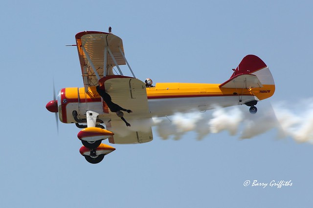Jane Wicker, wing walker, killed in tragic crash at Vectren Air Show, Dayton, OH 22 June 2013 RIP
