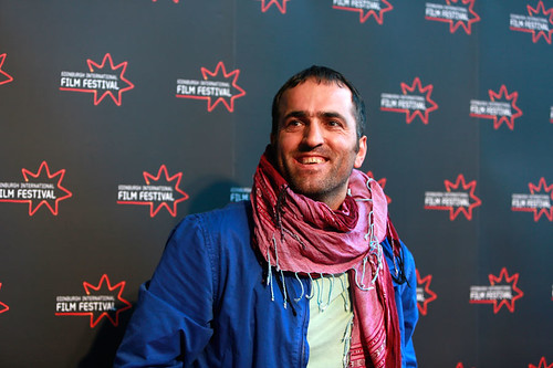 Khaled Jarrar at the Infiltrators European Premiere