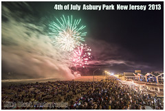 4th of July Asbury Park 2013 (Mike Black photography) Tags: ocean park new people black beach mike canon hall day angle grove fireworks sandy bruce hurricane wide nj 4th july forth convention jersey asbury dslr independence fourth crowds springsteen 2013