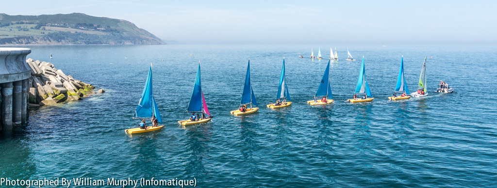 Learning To Sail In Greystones - County Wicklow [Ireland]
