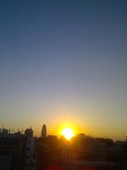 A sunny day from Barcelona (*Taber*) Tags: barcelona summer sky sun sol happy heaven bcn sunny cel cielo verano catalunya barcino barcellona catalua barcelone sunnyday estiu catalogne eixample catalonian barcelonne sunnylook obulco
