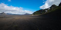 Scales and Shadows (Anti-Matt) Tags: shadow sky black mountains rock clouds trek volcano iceland hike glacier emstrur