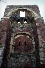 Norman gatehouse of Rougemont Castle, Exeter