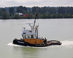 Harken 6 ~ New Westminster (Chris City) Tags: tugboat tug fraserriver newwestminster
