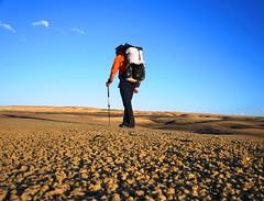 Hyperlite Mountain Gear, Bisti Badlands, New Mexico (hyperlitemountaingear2013) Tags: camping camp newmexico expedition desert hiking hike backpack ultralight badlands windrider overland bisti lightweight hmg denazin willderness hyperlite cubenfiber