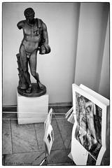 DSC_6055 BW Madrid 2013 (iulian nistea) Tags: madrid blackandwhite bw nature statue nude noiretblanc morte nudity naturemorte nud albnegru statuie naturamoarta