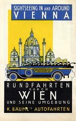 Austrian Sightseeing Pamphlet (jericl cat) Tags: vienna travel 1920s vintage ads paper typography european euro ad sightseeing ephemera advertisement font type artdeco austrian pamphlet prewar