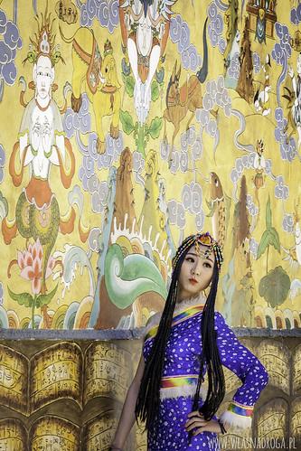 Modelka z Lijiang