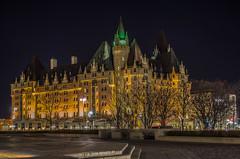 Ottawa Hotel HDR.jpg (~Ocho1~) Tags: city canada building architecture night shot ottawa hdr challengegamewinner nikonflickraward