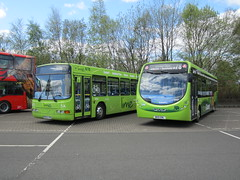 Out With The Old In With The New (zipdiskdude) Tags: lime sunderland consett gonortheast 4854 5398 r854prg nebuses coastandcountry nk15enl