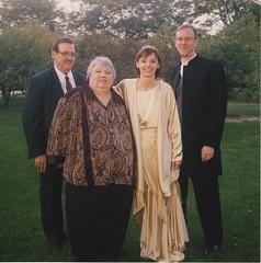 Laura Wedding Marge+Mike+David (David Zerlin) Tags: photohistory margewunder