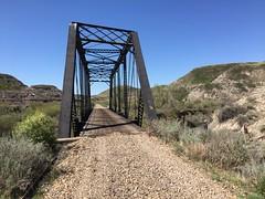 BRIDGE SW OF WAYNE (jasonwoodhead23) Tags: railroad abandoned cn wayne alberta