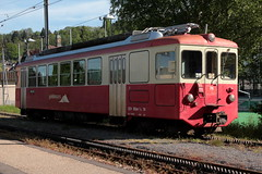 Triebwagen CEV BDeh 2/4 74 am Bahnhof Blonay im Kanton Waadt - Vaud der Schweiz (chrchr_75) Tags: chriguhurnibluemailch christoph hurni schweiz suisse switzerland svizzera suissa swiss chrchr chrchr75 chrigu chriguhurni mai 2015 albumzzz201505mai bahn eisenbahn schweizer bahnen train treno zug albumbahnenderschweiz albumbahnenderschweiz201516 juna zoug trainen tog tren  lokomotive  locomotora lok lokomotiv locomotief locomotiva locomotive railway rautatie chemin de fer ferrovia  spoorweg  centralstation ferroviaria