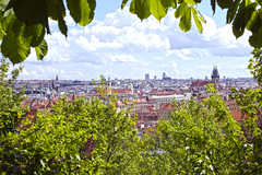 Praga (lozhka13) Tags: city green beautiful garden spring europe outdoor praha praga viev