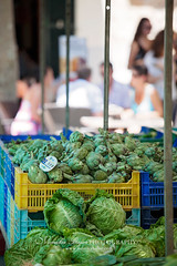 IMG_1659 (monika d.Bajor) Tags: street people food macro fruits canon children photography spain market nuts hats strawberries olives bags pollensa stalls majorca