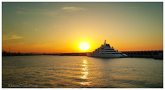 Yacht (Rhannel Alaba) Tags: sunset sunrise spain yacht samsung tarragona pido alaba note4 rhannel