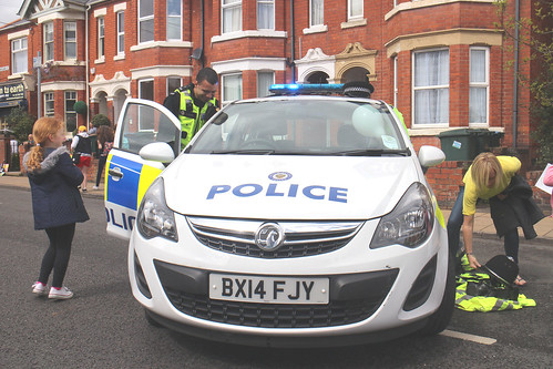 Police Car_Earlsdon Festival_Earlsdon Street_Earlsdon_Coventry_May15