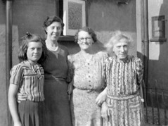 The ladies of the family (vintage ladies) Tags: family ladies portrait people woman girl smile smiling lady female vintage glasses necklace women lovely generations 40s 40sstyle 40swoman 40slady