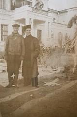 . (Scutal) Tags: photo old retro black white blackwhite history    university students     cccp urss   moldova chisinau monument